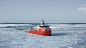 The new Polar Logistics Vessel will be powered by Wärtsilä machinery. Courtesy Wartsila