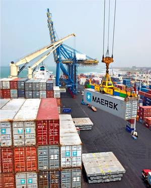 The objective of the Global Alliance for Trade is to accelerate trade facilitation reforms by supporting swift and wide implementation of the WTO Trade Facilitation Agreement (TFA) Courtesy Maersk