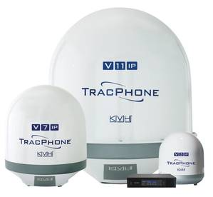 KVHs advanced TracPhone V-IP series satellite antenna systems are designed and optimized for the mini-VSAT Broadband network.