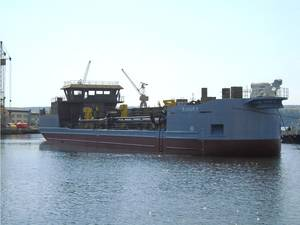 Trailing suction hopper dredger MAHURY