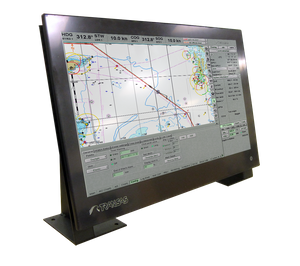 A Transas 24-inch ECDIS Panel PC (Photo: Transas Marine).