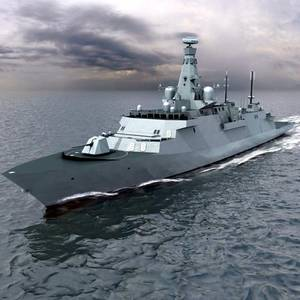 Type 26 Global Combat Ship (Image: GE)
