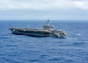 Official U.S. Navy file photo of USS Carl Vinson (CVN 70)