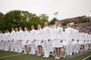 Class of 2013 graduates: Photo courtesy of US Coast Guard Academy