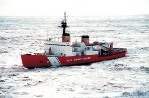 The U.S. Coast Guard Icebreaker Polar Star (credit: USCG)