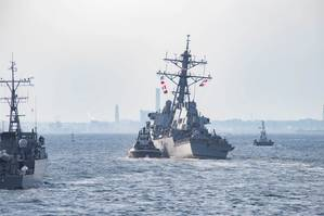 File Image: the USS Fitzgerald (CREDIT: USN / K Wieirmann)