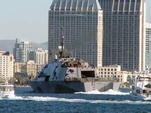 USS Freedon San Diego: Photo credit USN