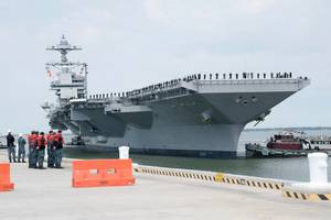 USS Gerald R. Ford. Photo by United States Navy