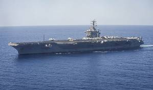 USS Nimitz: Photo courtesy of USN