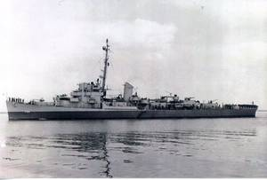 Photo courtesy Destroyer Escort Historical Museum