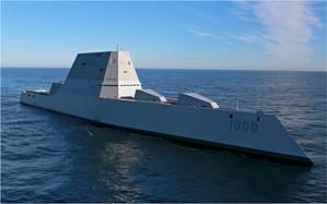 USS Zumwalt  (Photo: Furuno)