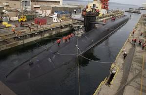 USS Michigan: Photo credit USN