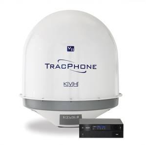 KVH TracPhone Radome: Image credit KVH