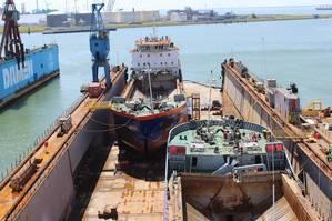 Van Oord Split Hopper Barges