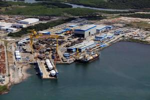 Following the recent closure of the Vard Niterói shipyard, VARD is now concentrating all its Brazilian shipbuilding activities on Vard Promar (Photo: Vard)