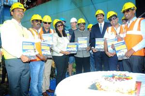 Vessel Inauguration Function Photo Krishnapatnam port
