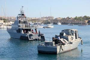 Swift Patrol Boat:Photo credit Maritime Museum of San Diego