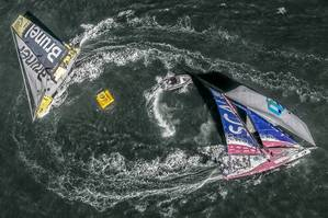 New Zealand Herald InPort Race (Pic by Volvo Ocean Race)