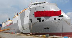 New Livestock Carrier: Photo courtesy of Vroon