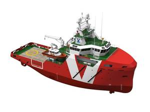 Vroon 60m ERRV: Artists impression courtesy of Vroon Offshore