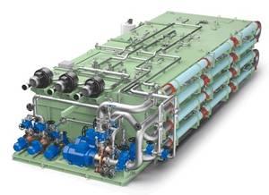 Wärtsilä Hamworthy Membrane BioReactor system (Image courtesy of Wärtsilä)