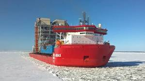 AUDAX sailing in ice (Photo: Red Box Energy Services)