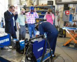 WSS 262 Welding demonstration