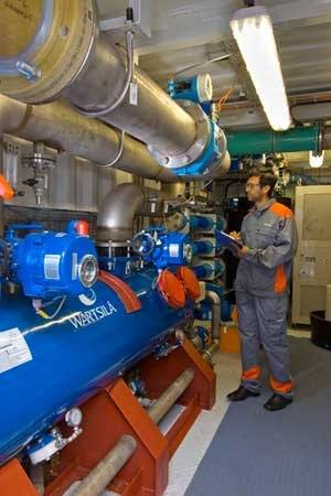 EC Ballast Water Management System: Photo credit Wärtsilä