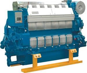 File Image: a Wartsila built marine engine (Wartsila)
