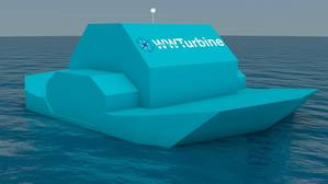 Rendering of WWTs self-floating power plant