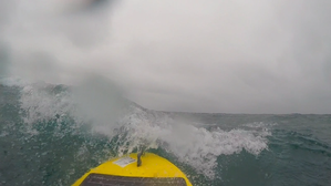 Waveglider in rough seas