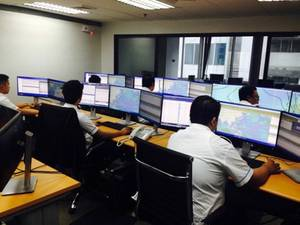 Weathernews' Manila Operation Center in Makati