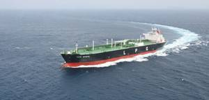 MHI-built LPG carrier: Photo MHI