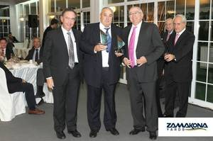 Shipbuilders award: Photo courtesy of Zamacona