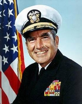 Admiral Elmo R. Bud Zumwalt, Jr: USN photgraph