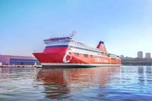 Jean Nicoli will be one of the three Corsica Linea ferries to benefit from ABB's shore connection technology. Image: ABB