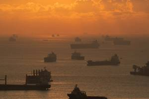 Of the 51 piracy incidents reported through the first six months of 2020, 31 (61%) occurred to ships at anchor/berth and 20 (39%) to ships underway. (© hit1912 / Adobe Stock)