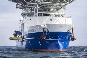 Surveyor Interceptor ROV on Stril Explorer for pipeline inspections for Nord Stream (Photo: Axel Schmidt / Nord Stream)