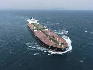 The KOTC operated VLCC Al Kout. (Photo: DSME)