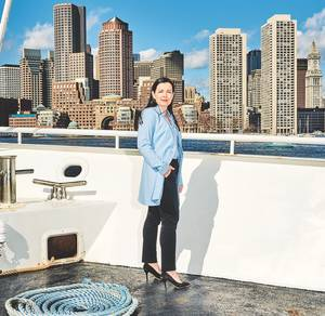 Alison Nolan, General Manager and a fourth-generation owner of Boston Harbor Cruises (Photo: BHC)