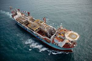 The Steam Boiler module will be installed on the Aoka Mizu FPSO. (Photo: Bluewater)