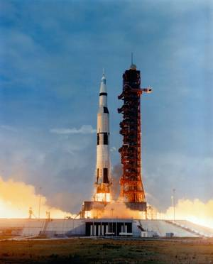 Apollo 10 launching (Photo: NASA)