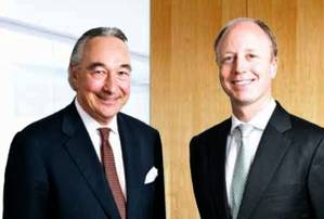 Chairman (L) & CEO: Image Rickmers