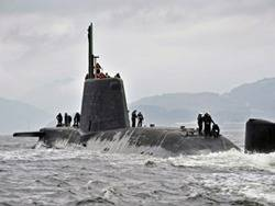 HMS Astute: Photo British Navy