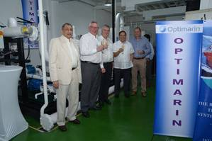 Anglo-Eastern, Optimarin and Saga celebrate the opening of the new BWT training facility (Photo: Optimarin)