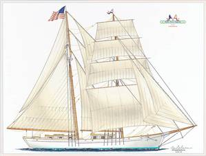 The Brigantine: Image courtesy of Educational Tall Ship Organization