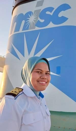Captain Eezmaira Sazzea binti Shaharuzzaman  - Credit: Eaglestar