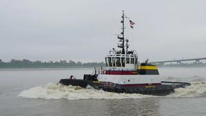 Bisso's Tier 4 Final Tug, Andrew S (Photo: Caterpillar Marine)