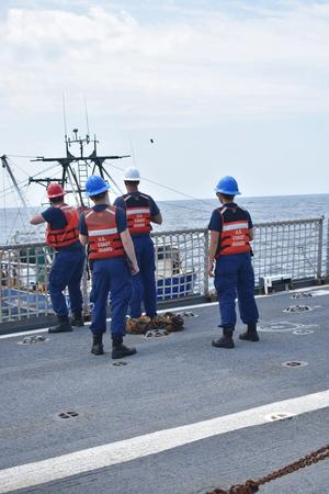 U.S. Coast Guard photo courtesy of Petty Officer 2nd Class Victoria Eckart