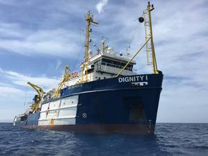 MSF Search and Rescue boat Dignity I (Photo: MSF)